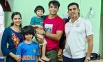 Neeraj Chopra visits ex-coach Kashinath Naik