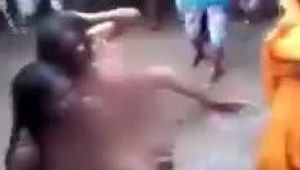 Two 'Dalit women' stripped, filmed, and paraded naked and thrashed by 'upper caste' women.