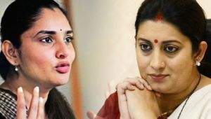 Ramya, Kannada Actress & Former MP slams Smriti Irani on Twitter