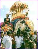 File picture of Mysore Jumbo savari