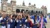 ಮೈಸೂರಿನಲ್ಲಿ ಗಿನ್ನಿಸ್ ದಾಖಲೆಗಾಗಿ ಯೋಗ: ಕುಸಿದು ಬಿದ್ದ 10 ಮಕ್ಕಳು