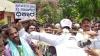 ಶಾಸಕ ನಾರಾಯಣಗೌಡರ ವಿರುದ್ಧ ಜೆಡಿಎಸ್ ಕಾರ್ಯಕರ್ತರ ಪ್ರತಿಭಟನೆ