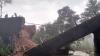 ಮೂಡಿಗೆರೆಯಲ್ಲಿ ಬೈಕ್ ಸಮೇತ ಕುಸಿದುಬಿದ್ದ ಸೇತುವೆ; ಸವಾರನಿಗೆ ಗಂಭೀರ ಗಾಯ