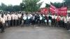 ಖಾಸಗೀಕರಣ ವಿರೋಧಿಸಿ ಮೈಸೂರಿನಲ್ಲಿ ಬಿಇಎಂಎಲ್ ಕಾರ್ಮಿಕರ ತಮಟೆ ಚಳವಳಿ