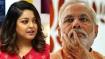 ನಾನಾ ಪಾಟೇಕರ್ ಜೊತೆ 'ಮೀಟೂ' : ಮೋದಿಯನ್ನು ಪ್ರಶ್ನಿಸಿದ ತನುಶ್ರೀ