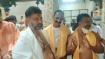 ಕಮಲಶಿಲೆ, ಕೊಲ್ಲೂರು ಮೂಕಾಂಬಿಕಾ ದೇವಿ ದರ್ಶನ ಪಡೆದ ಡಿ.ಕೆ ಶಿವಕುಮಾರ್