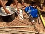 ಕಾಸರಗೋಡು: ಪೊದೆಯೊಂದರಲ್ಲಿ ಮಾರಕಾಸ್ತ್ರಗಳು ಪತ್ತೆ!