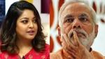 ನಾನಾ ಪಾಟೇಕರ್ ಜೊತೆ 'ಮೀಟೂ': ಮೋದಿಯನ್ನು ಎಳೆದು ತಂದ ತನುಶ್ರೀ