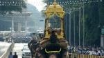 ಮರದ ಅಂಬಾರಿ ಹೊತ್ತು ಹೆಜ್ಜೆ ಹಾಕಿದ ಅರ್ಜುನ