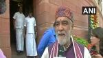 ಪಾಟ್ನಾದಲ್ಲಿ ಕೇಂದ್ರ ಸಚಿವರ ಮೇಲೆ ಇಂಕ್ ಎರಚಿ, ವ್ಯಕ್ತಿ ಪರಾರಿ