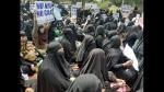 'ಇದ್ದರೂ, ಸತ್ತರೂ ಹಿಂದೂಸ್ತಾನದಲ್ಲಿ':  ಬೀದಿಗಿಳಿದ ಮುಸ್ಲಿಂ ಮಹಿಳೆಯರು