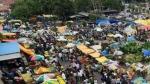 ಕಲಬುರಗಿ ನಗರದಲ್ಲಿ ನೂರಾರು ವ್ಯಾಪಾರಿಗಳಿಂದ ದಿಢೀರ್ ಪ್ರತಿಭಟನೆ