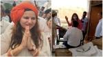 ವೈರಲ್ ವಿಡಿಯೋ: ಅಧಿಕಾರಿಗೆ ಚಪ್ಪಲಿಯಿಂದ ಥಳಿಸಿದ ಬಿಜೆಪಿ ನಾಯಕಿ