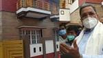 ಮೈಸೂರು: ಮಾಜಿ ಸಿಎಂ ಸಿದ್ದರಾಮಯ್ಯ ನಿವಾಸ ಸೀಲ್ ಡೌನ್