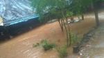 ಉತ್ತರ ಕನ್ನಡ ಜಿಲ್ಲೆಯಲ್ಲಿ ನಿಲ್ಲದ ಮಳೆ; ತಗ್ಗು ಪ್ರದೇಶಗಳಿಗೆ ಹರಿದ ನೀರು