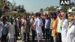 ಕೃಷಿ ಕಾಯ್ದೆ ವಿರುದ್ಧ ಹರಿಯಾಣ-ಪಂಜಾಬ್ ನಲ್ಲಿ ಹೋರಾಟ
