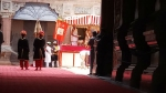 ಮೈಸೂರು: ಅಂಬಾವಿಲಾಸ ಅರಮನೆಯಲ್ಲಿ ಆಯುಧ ಪೂಜೆ ಸಂಭ್ರಮ