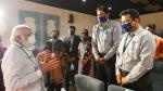 ಹೈದರಾಬಾದ್ನ ಭಾರತ್ ಬಯೋಟೆಕ್ ಕೊರೊನಾ ಲಸಿಕೆ ಕೇಂದ್ರಕ್ಕೆ ಮೋದಿ ಭೇಟಿ