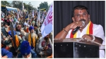 ರಾಜಧಾನಿಯಲ್ಲಿ ಅನ್ನದಾತರ ಪ್ರತಿಭಟನೆ: ಆಳುವ ಜನರಿಗೆ ವಿವೇಕ ಬರಲಿ: ಕರವೇ ಗೌಡ್ರ ಪೋಸ್ಟ್