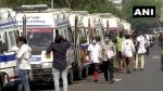 ಗುಜರಾತ್ನಲ್ಲಿ ಕೊವಿಡ್-19 ಸೋಂಕಿತರ ಸೇವೆಗೆ 60 ಹೊಸ ಆಂಬುಲೆನ್ಸ್