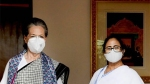 'ಚಾಯ್ ಪೆ ಚರ್ಚಾ': ಸೋನಿಯಾರನ್ನು ಭೇಟಿಯಾದ ಮಮತಾ, ರಾಹುಲ್ ಉಪಸ್ಥಿತಿ