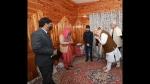 ಜಮ್ಮು ಕಾಶ್ಮೀರ ಪ್ರವಾಸದಲ್ಲಿ ಅಮಿತ್ ಶಾ: ಹುತಾತ್ಮ ಪೊಲೀಸ್ ಪತ್ನಿಗೆ ಸರ್ಕಾರಿ ಉದ್ಯೋಗ