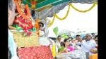 ಮೈಸೂರು ದಸರಾ: ಚಾಮುಂಡಿ ಬೆಟ್ಟದಿಂದ ಅರಮನೆಗೆ ಬಂದ ಜಂಬೂಸವಾರಿ ಉತ್ಸವ ಮೂರ್ತಿ