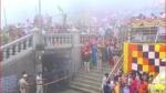 ತೀರ್ಥರೂಪಿಣಿಯಾಗಿ ಭಕ್ತರಿಗೆ ದರ್ಶನ ಕೊಟ್ಟ 'ಕಾವೇರಿ'