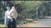 ಕೈಯಲ್ಲಿ ಮಗು ಹಿಡಿದು ಟ್ರಾಫಿಕ್ ನಿಯಂತ್ರಿಸಿದ ಮಹಿಳಾ ಪೊಲೀಸ್: ವೈರಲ್ ವಿಡಿಯೋ
