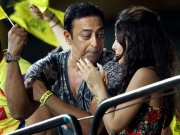 Vindu and Sakshi Dhoni