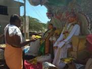 ರಾಮನಗರದಲ್ಲಿ ರತಿ-ಮನ್ಮಥರ ಜೊತೆ ಸಾಂಪ್ರದಾಯಿಕ ಹೋಳಿ