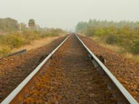 Young lovers meet tragedy on railway track