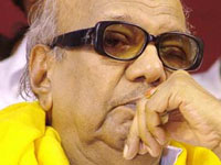 DMK-Cong deadlock: Karuna leaves for Chennai