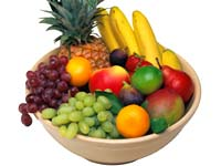 Eat fruits to be healthy
