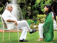 CM BSY interview by Ramya