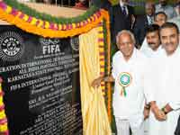 Bsy laid foundation to FIFA academy