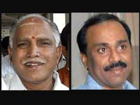 Yeddyurappa and Reddy