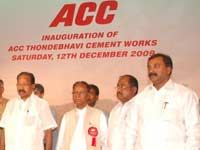 ACC Plant at Thondebhavi