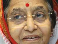 Pratibha Patil, President of India