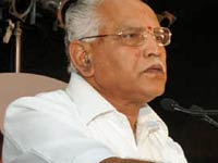 BSY to participate in TN govt function chennai