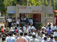 Bosch Ltd declares lockout at Bangalore plant