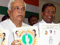 Congress releases BBMP poll manifesto