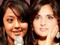 Aindrita Ray and Ramya cat fight
