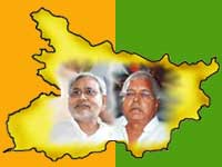 JD(U)-BJP take huge lead in bihar polls
