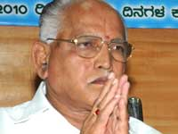 Yeddyurappa thanks giving to seers