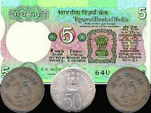 RBI to cease Five rupee coin