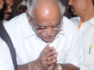 BSY apologizes to Manjunatha
