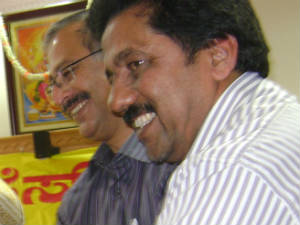 Sadashiva Shenoy and Ponnappa