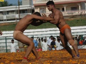 Lifestyle of wrestlers in Mysore