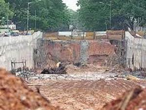 Tagore circle ready by march 2012
